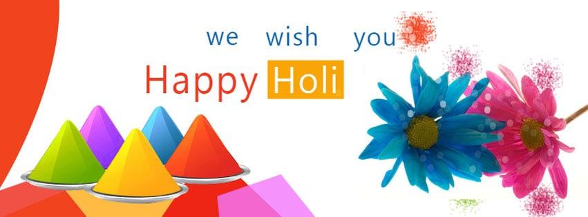 Happy Holi 2018 Facebook Cover Photo G